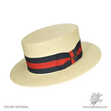 dd491a38e8379 The Skimmer was for many decades the mans straw hat of choice. Often  associated with sailing