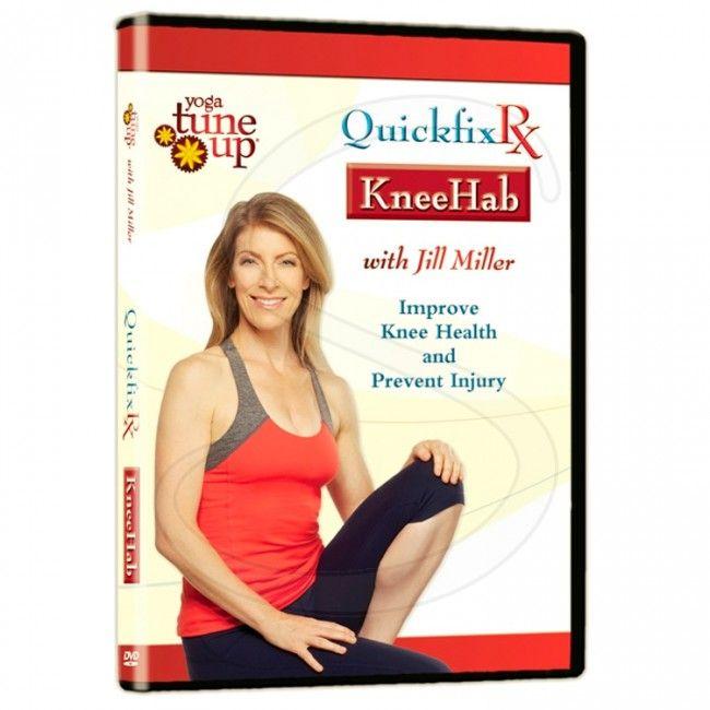 Yoga Tune Up Quickfix Rx Kneehab DVD