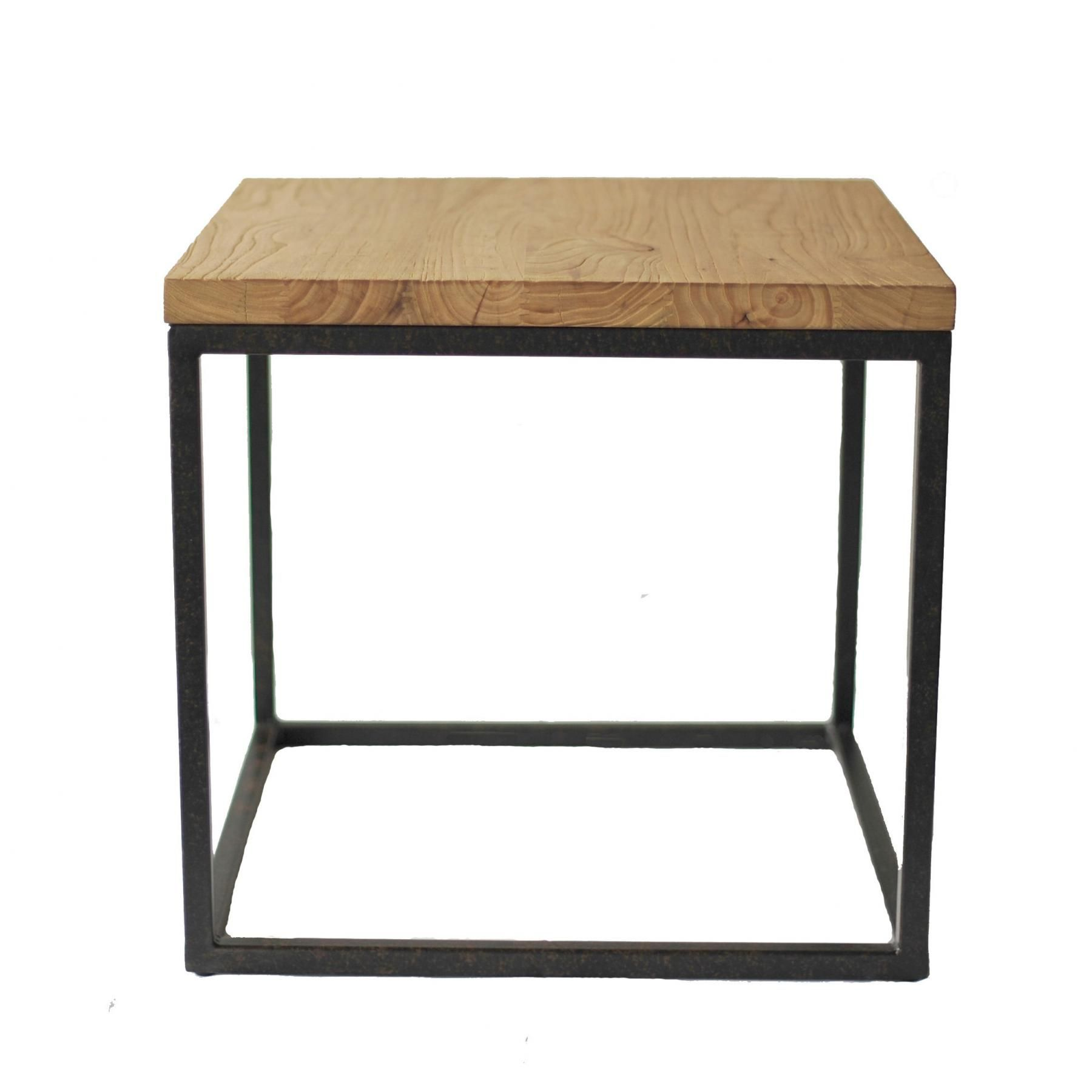 Wonderful Idyll Home   Reclaimed Wood Side Table
