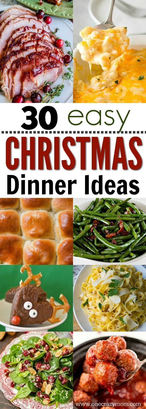 Christmas Dinner Ideas - 30 Christmas Menu Ideas #dinnerrecipesforfamilymaindishes