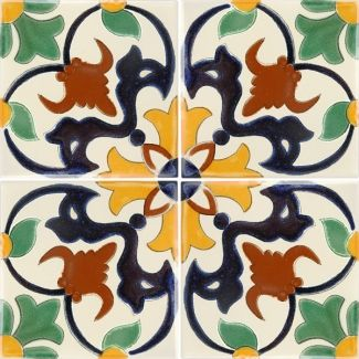 Carnaval Terra Nova Hacienda Ceramic Tile Ceramic Tiles Mexican Tile Tiles