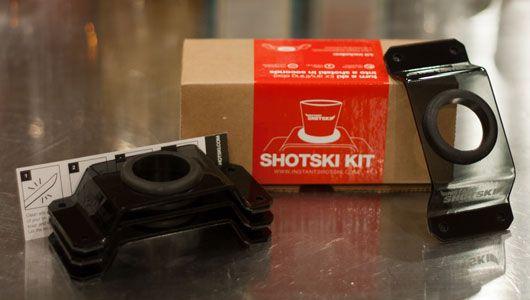 Instant Shotski shot ski bracket kit