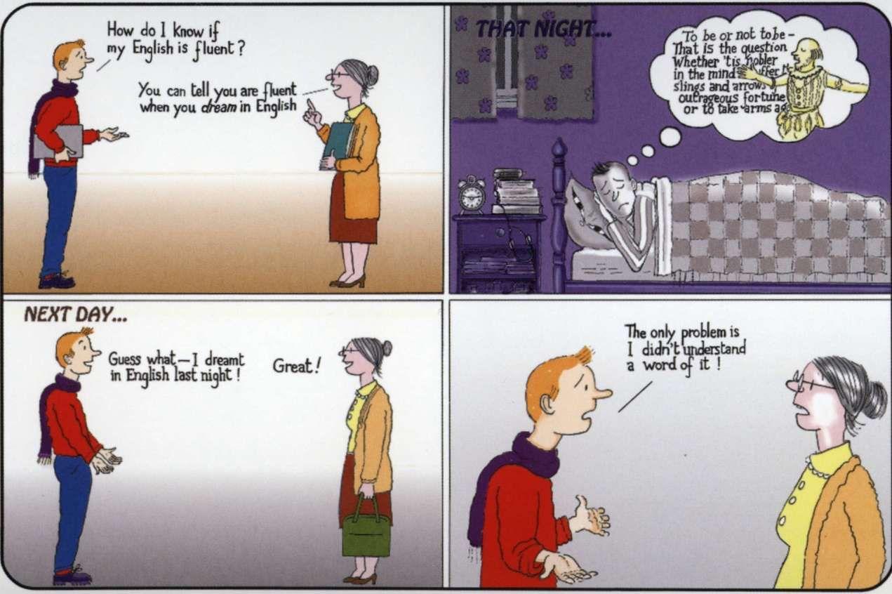 Английский для начинающих картинки смешные