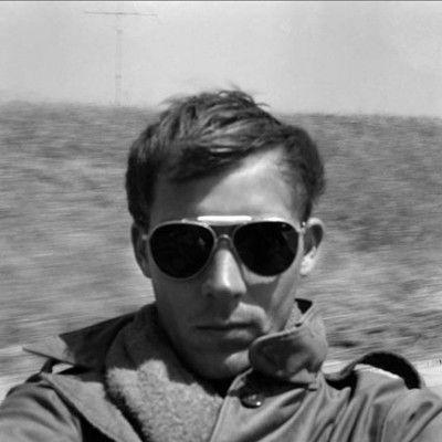 self portrait, on road to tijuana,1960 • © estate of hunter s. thompson