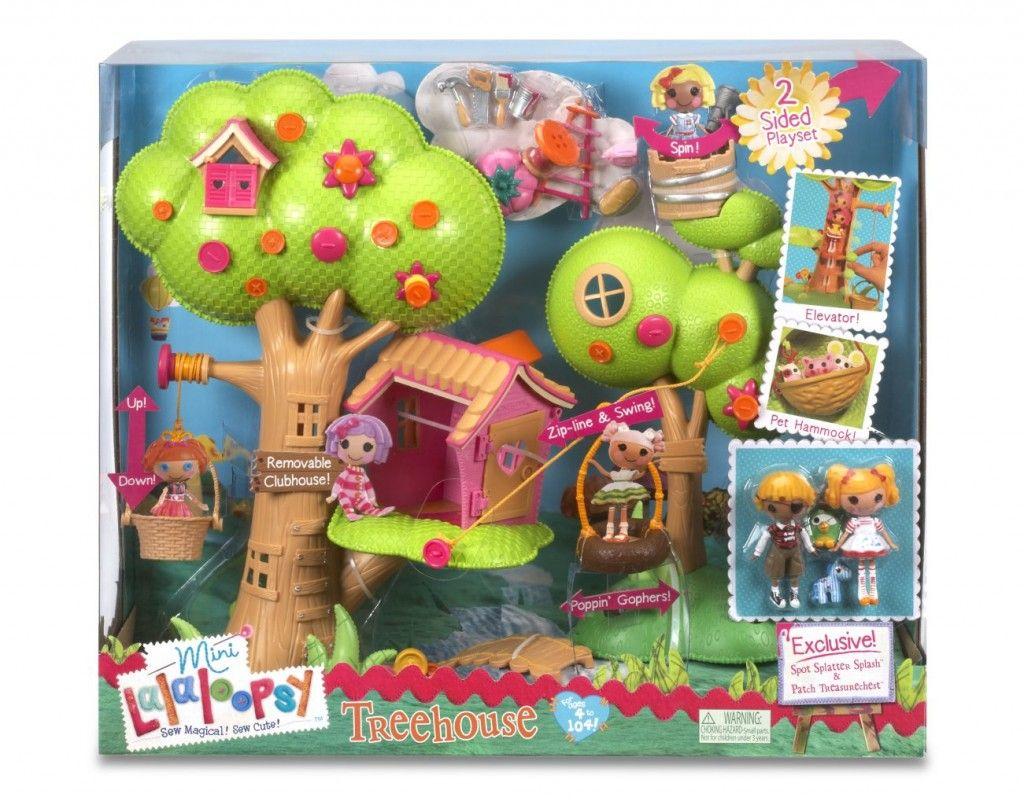 Captivating Lovely New Dolls La La Loopsy Lalaloopsy Dollhouse Treehouse Spot Splatter  Splash Patch