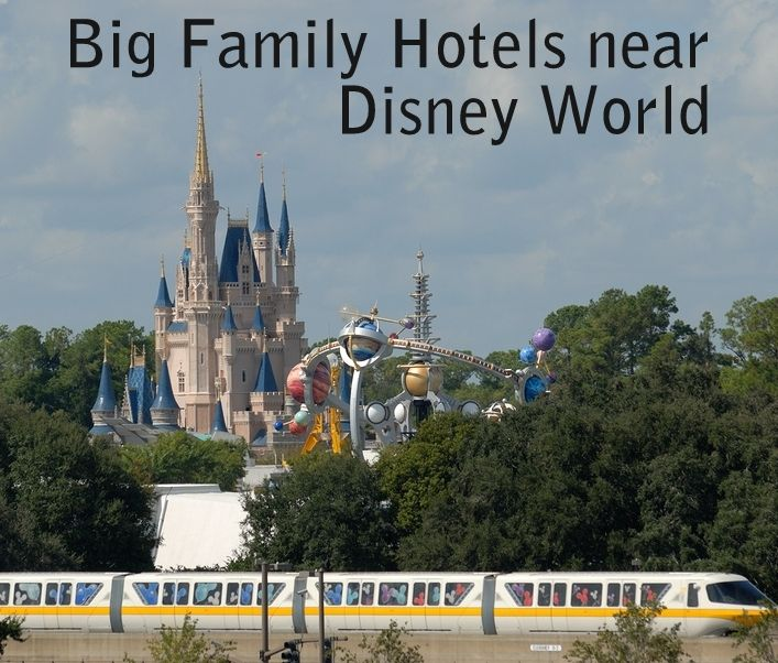 6 big family hotels near disney world travel pinterest. Black Bedroom Furniture Sets. Home Design Ideas