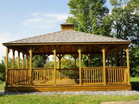 Garden Rectangular Gazebos Gothic Arch Greenhouses Gazebo