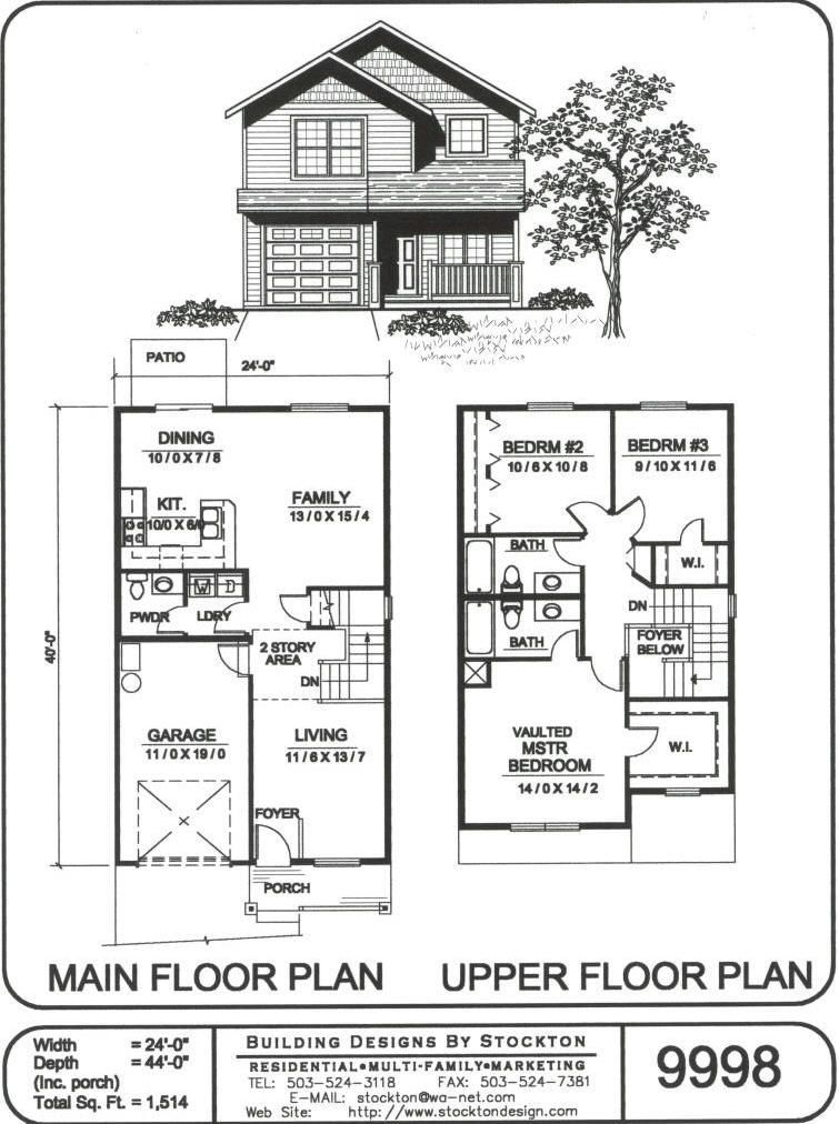 24 Wide Craftsman Bungalow House Plans Country House Plans House Plans