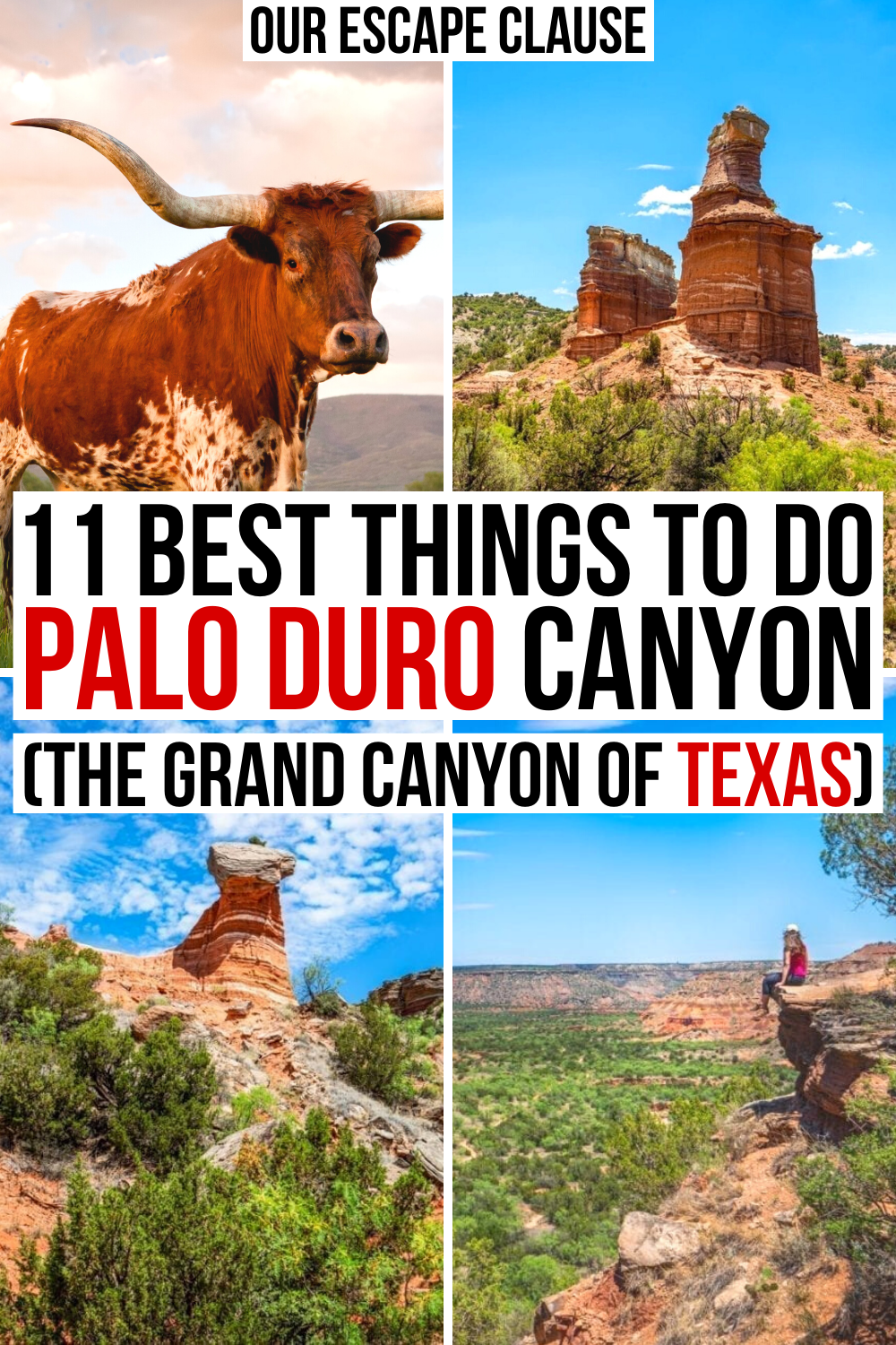 11 Best Things to Do in Palo Duro Canyon, Texas