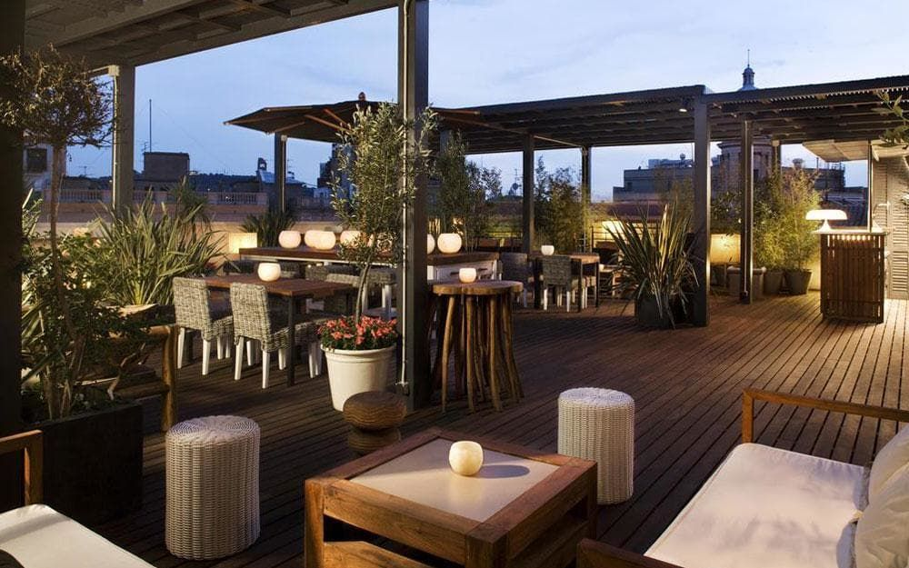 The best Barcelona hotels with rooftop bars Hotel