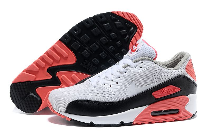 online store 5fc5d c3e3e UK Nike Air Max 90 Premium EM Mens and Womens Shoe White Black Pink