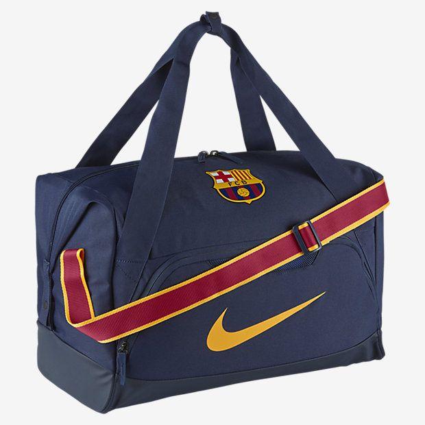 c3e5a93ba85a FC Barcelona Allegiance Shield Compact Football Duffel Bag