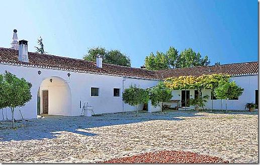 Spanish Farmhouse Courtyard