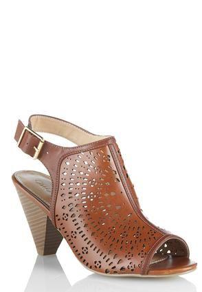 9e5123fa9 Cato Fashions Hooded Cutout Slingback Shoes  CatoFashions