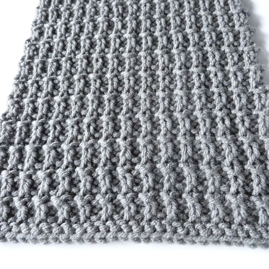 Ridge Rib Mens Scarf:After blocking, this scarf measures about 81 ...