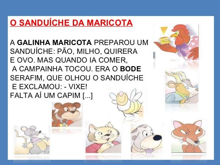14 Melhores Imagens De Historia O Sanduiche Da Maricota O