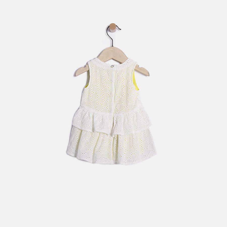 robe blanche brod e b b fille ikks mode bebe fille et 16 xh30040 ikks pinterest mode. Black Bedroom Furniture Sets. Home Design Ideas