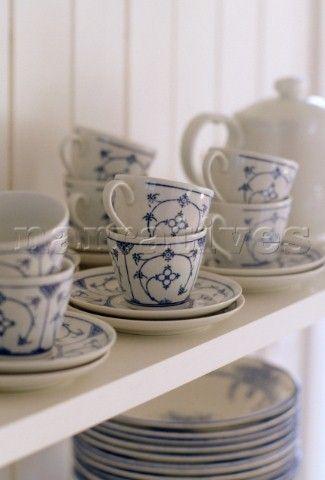 Indisch Blau Geschirr Blaues Geschirr Blau Und Weiss Kuchenutensilien