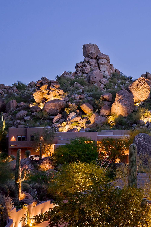 Cool Desert Landscape Lighting Designs Let There Be Light Llc Desert Landscaping Outdoor Lighting Landscape Lighting Design