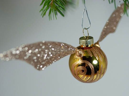 The Perfect Ornament for the Harry Potter Fan -   23 diy ornaments harry potter ideas