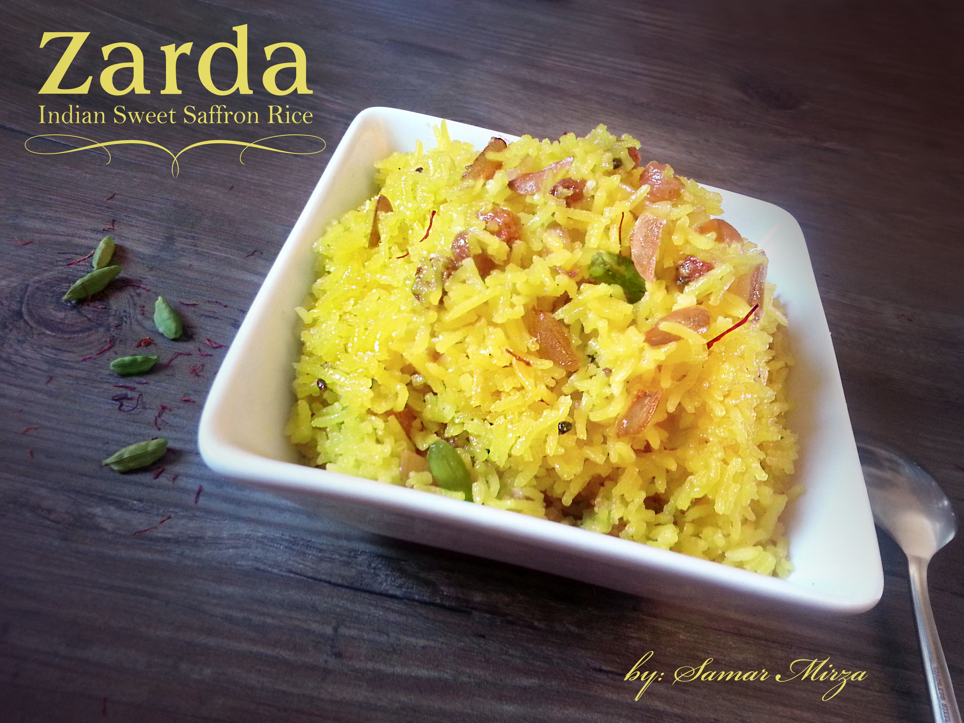 Zarda Meethe Chawal Meethe Pulao Is A Traditional South