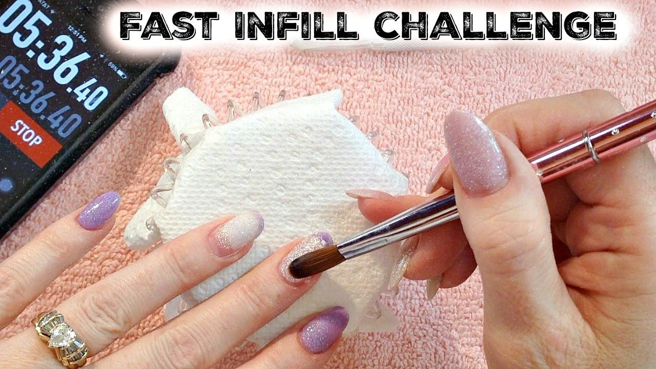 """Real Time Acrylic Nails: Fast Infill """"Fill In"""" Challenge by Naio Nails A..This acrylic nail fill challenge was so fun to do! Did I beat Kristy's time? Watch to find out! https://www.youtube.com/watch?v=VVogW7bt0I8 #fastinfillchallenge #friendlycompetition #nailtechcollaboration #nailtechsrule #nailtechfun #nailtechgrowth #nailtecheducation ."""