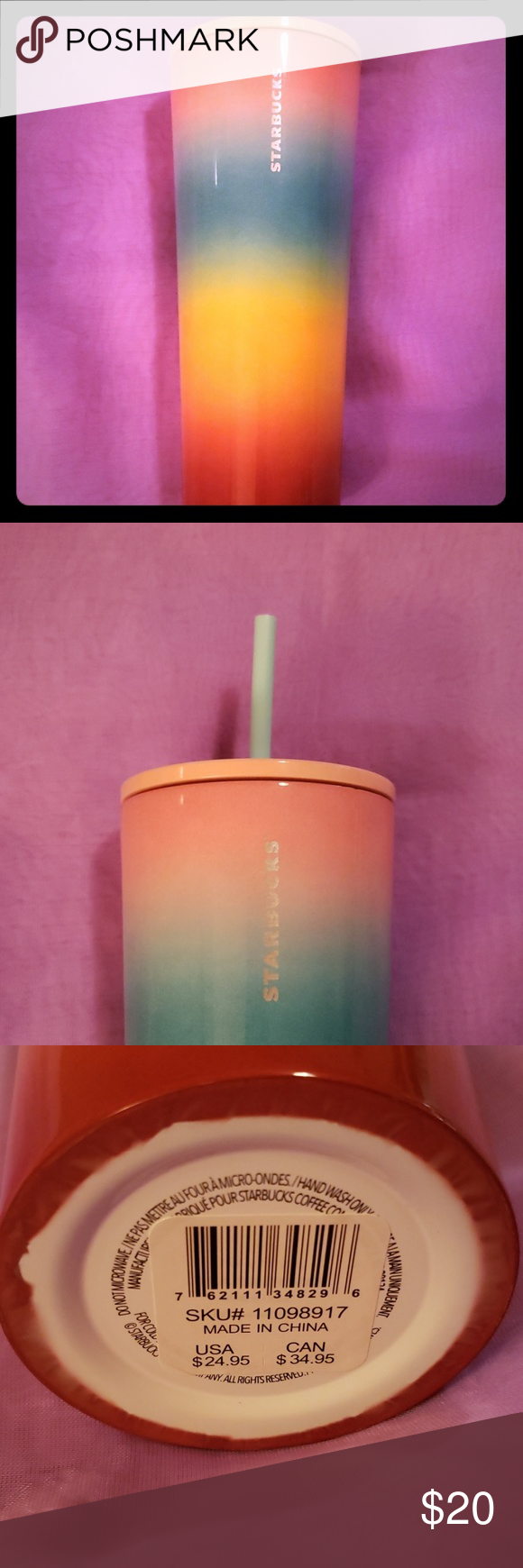 NWT!! 2019 Starbucks Frappuccino Cup!! NWT!! Limited Edition!! Never Used Starbucks COLD insulated cup Multicolored and Large Sized Cold Beverage Cup Starbucks Accessories #starbucksfrappuccino NWT!! 2019 Starbucks Frappuccino Cup!! NWT!! Limited Edition!! Never Used Starbucks COLD insulated cup Multicolored and Large Sized Cold Beverage Cup Starbucks Accessories #starbucksfrappuccino NWT!! 2019 Starbucks Frappuccino Cup!! NWT!! Limited Edition!! Never Used Starbucks COLD insulated cup Multicolo #starbucksfrappuccino