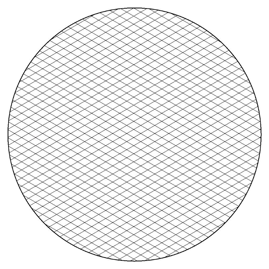 Isometric Graph Paper Or An Isometric Grid Is Created By