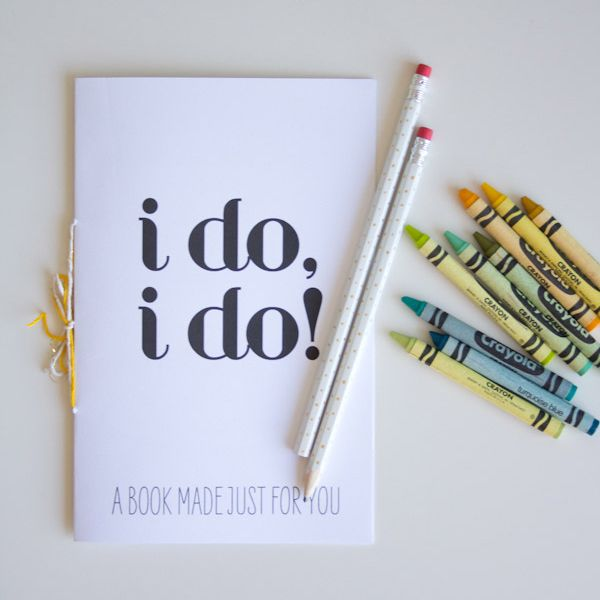 FREE Wedding Printable Activity Book For Kids By Lovely Indeed