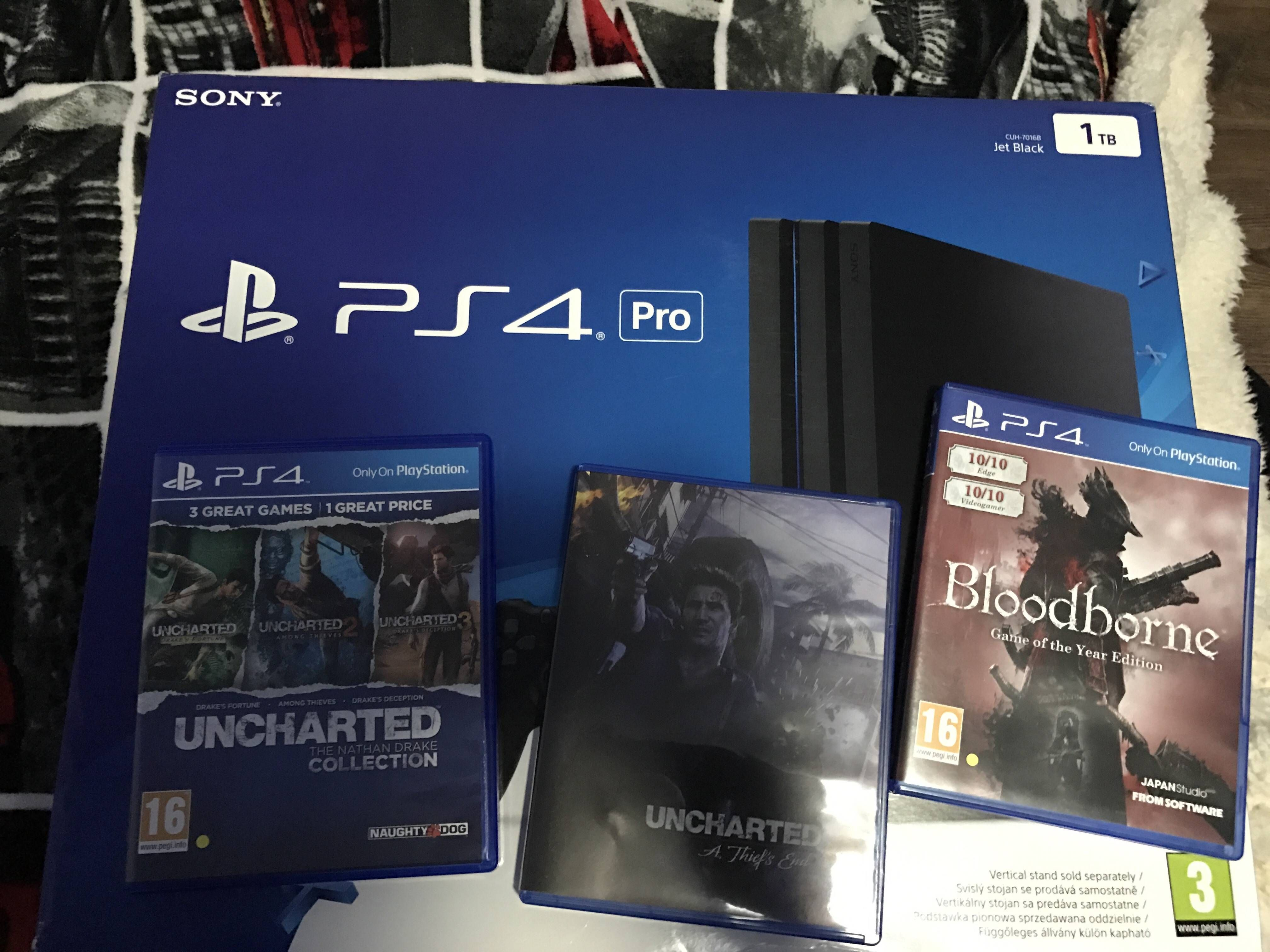PS4PRO] [IMAGE] Never owned a console before I read PS4 has