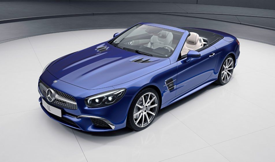 Mercedes Benz Kicks Into High Gear With Not One But Two Special Edition Roadsters American Luxury Mercedes Benz Models Mercedes Sl Mercedes Amg