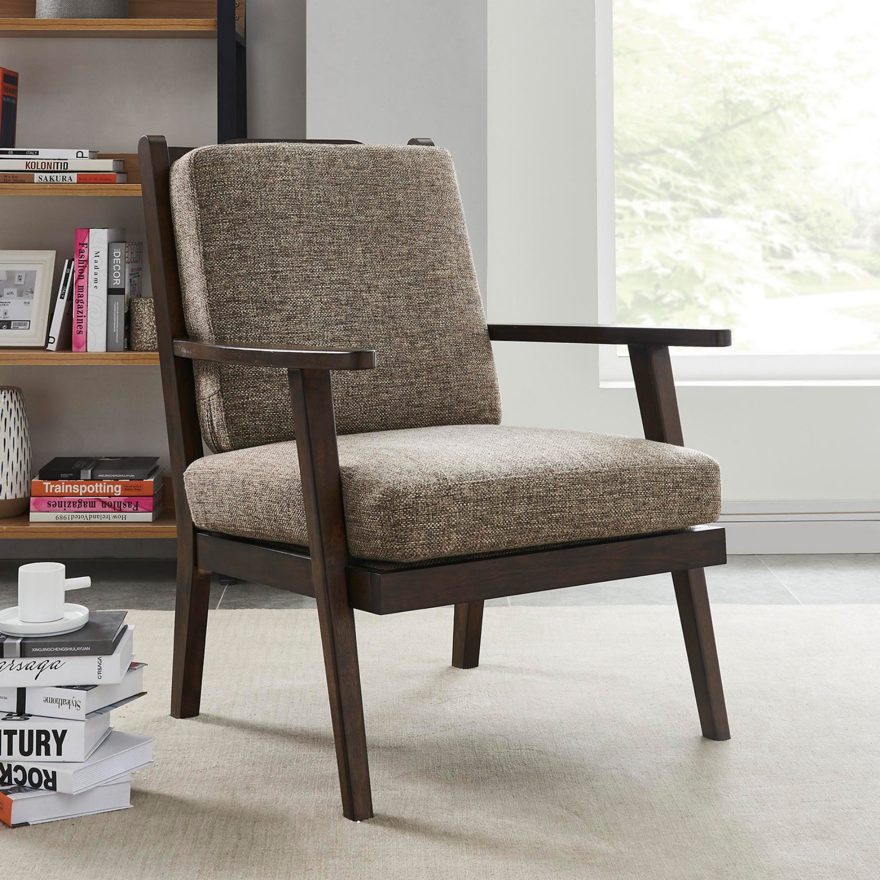 Nspire Mid Century Accent Chair  403 215Bn