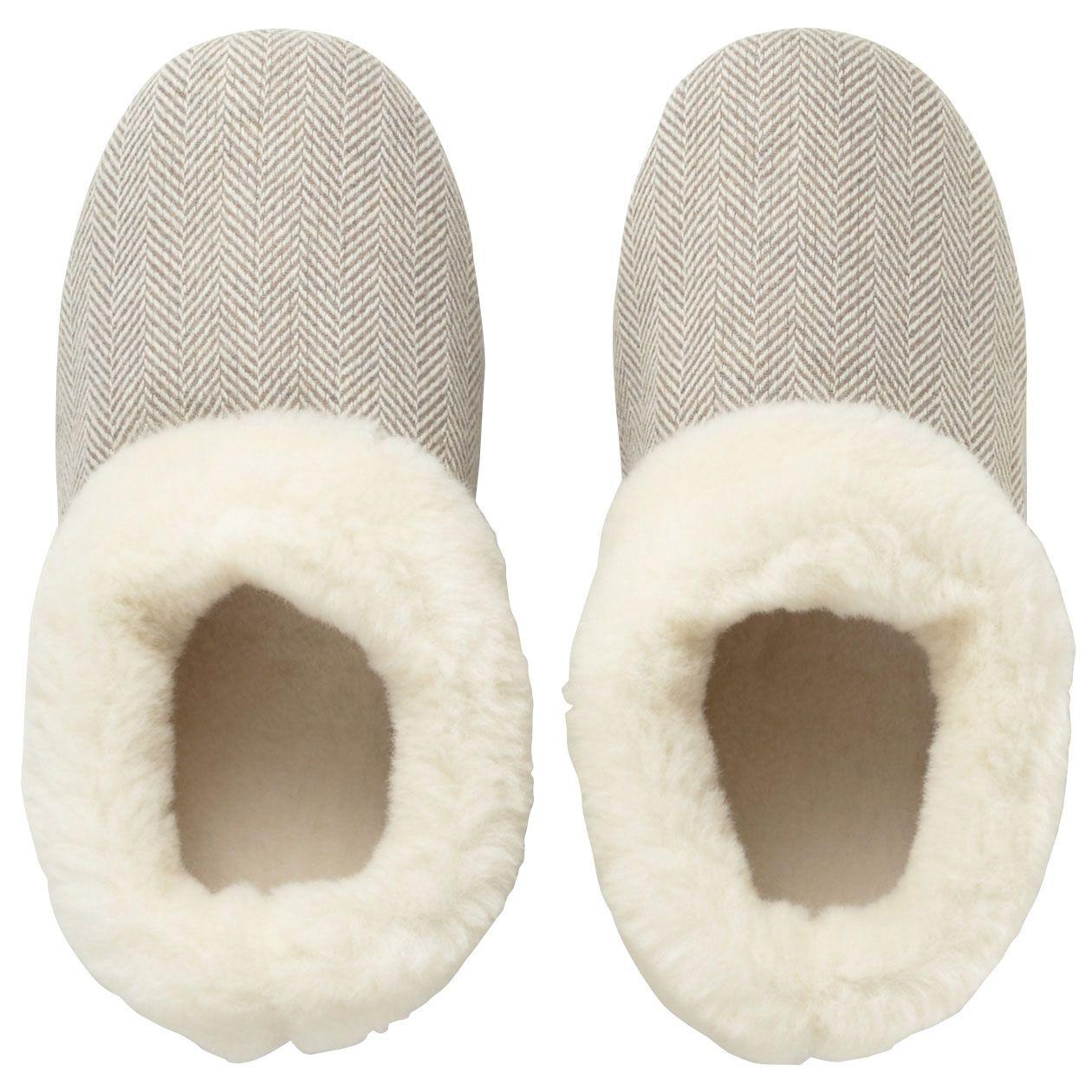 e88d637e4d3 MUJI Herringbone pattern slippers - cozy!