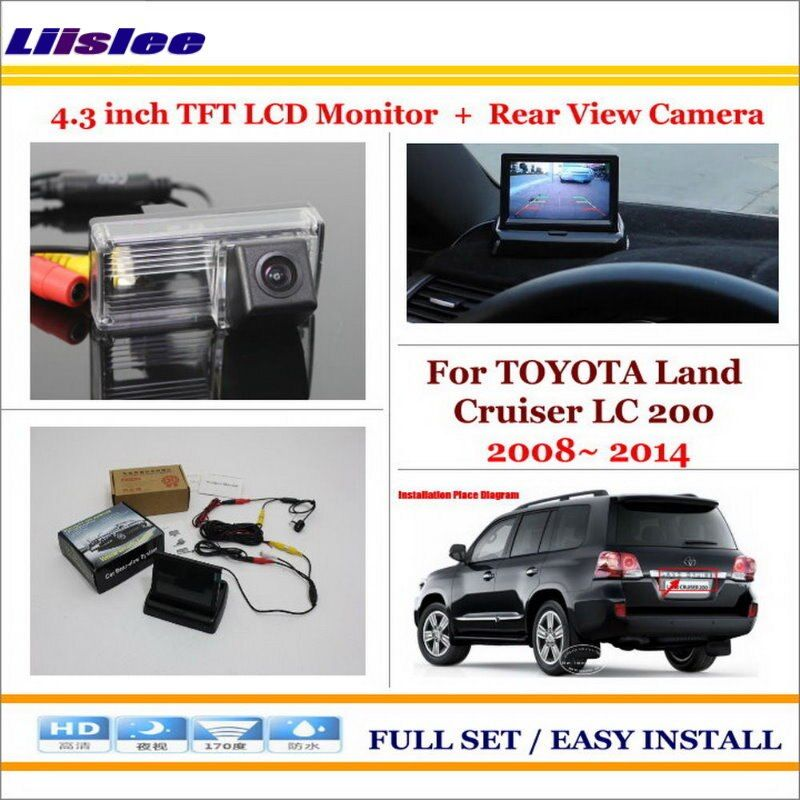 Toyota Land Cruiser 4 3 Tft Lcd Monitor Car Rear Back Camera Best Price Oempartscar Com Car Parking Camera Rear View Camera Lcd Monitor