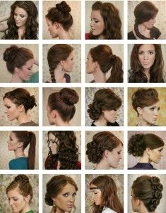 Different Hair Styles Long Hair Styles « Live More Daily  Hair To Try  Pinterest  Long