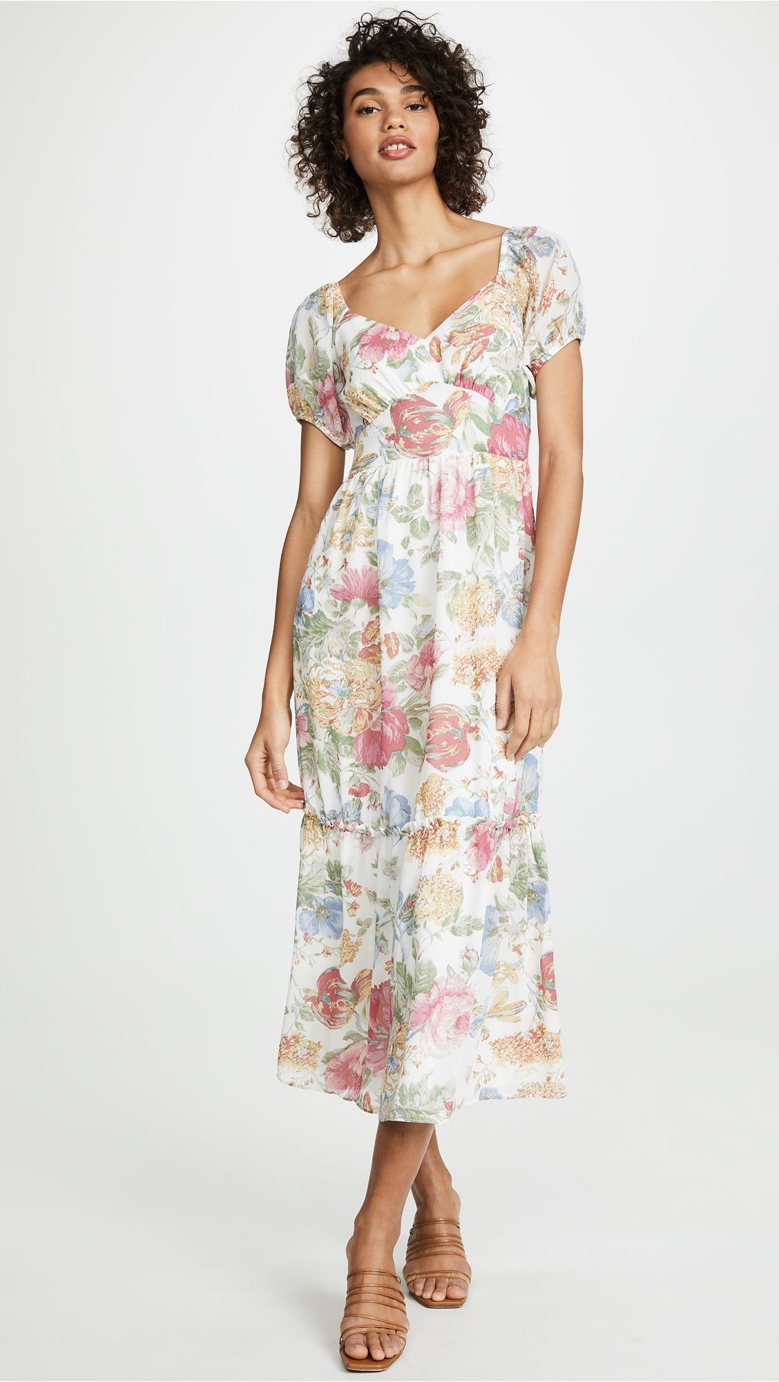 bb27755bf0cacd Tanya Ruffle Hem Maxi Dress in 2019 | My Style | Dresses, Fashion