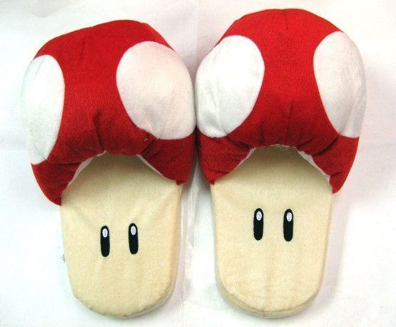 Super Mario Bros Red Mushroom Shoes MLSH3853