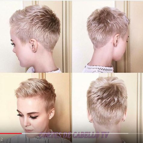 NEW Pixie Cuts We Love for 2018 ♥ Pixie Haircuts f