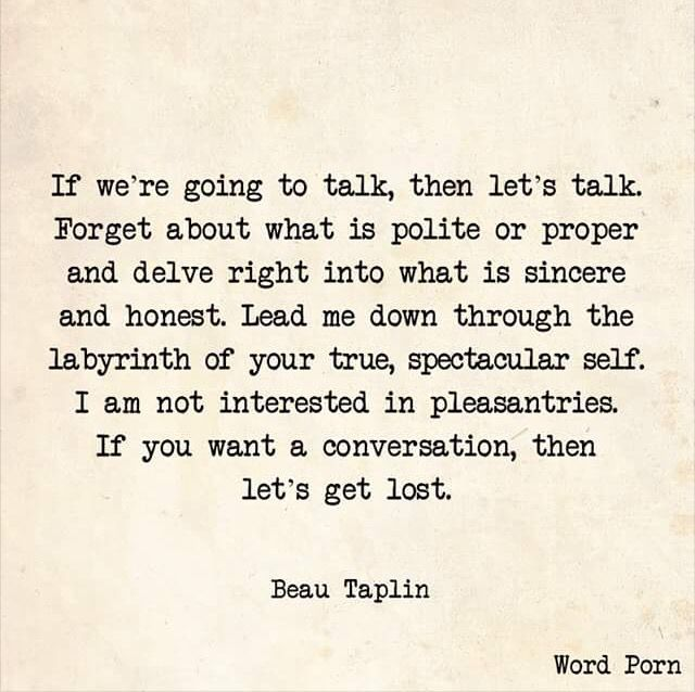 Ah Those Late Nightearly Morning Conversations How I Miss Them