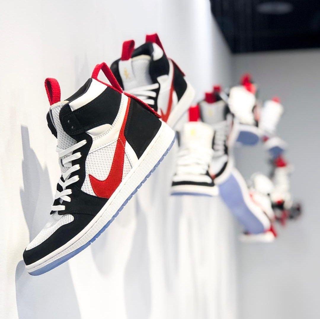 dd5bf47a0a4e Mars Yard Air Jordan 1 - The Shoe Surgeon X Reign X 10 Corso Como New York