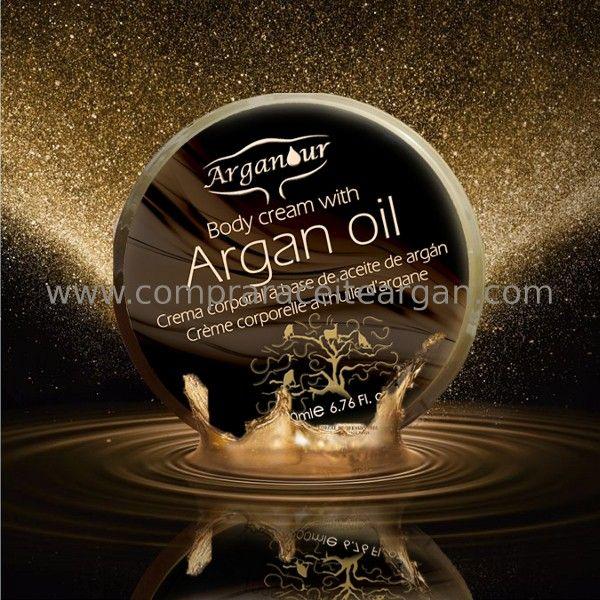 Crema con aceite de argán Arganour para uso corporal