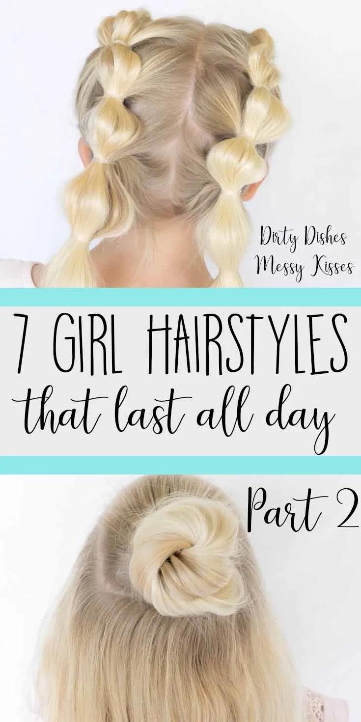 7 Girl Hairstyles - Part 2 - dirtydishesmessykisse