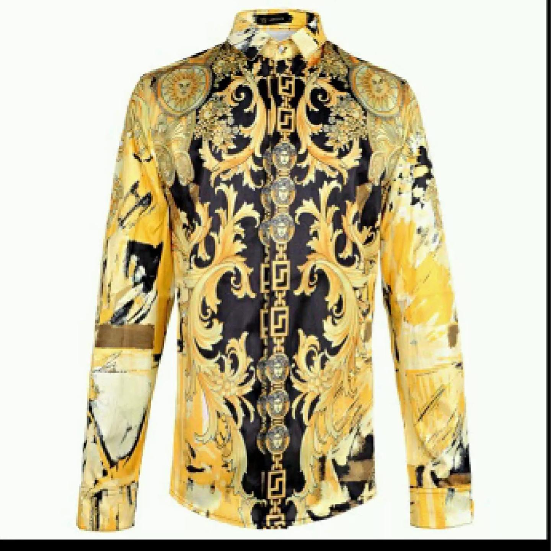 7b7f0233875 Versace Baroque Shirt Size Medium - 2XL   Versace Medusa Shirts in ...