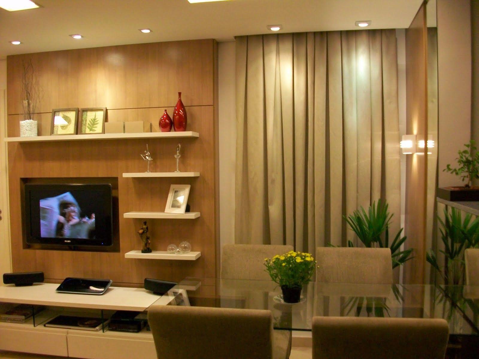 68 salas de estar pequenas projetadas por profissionais de CasaPRO ...