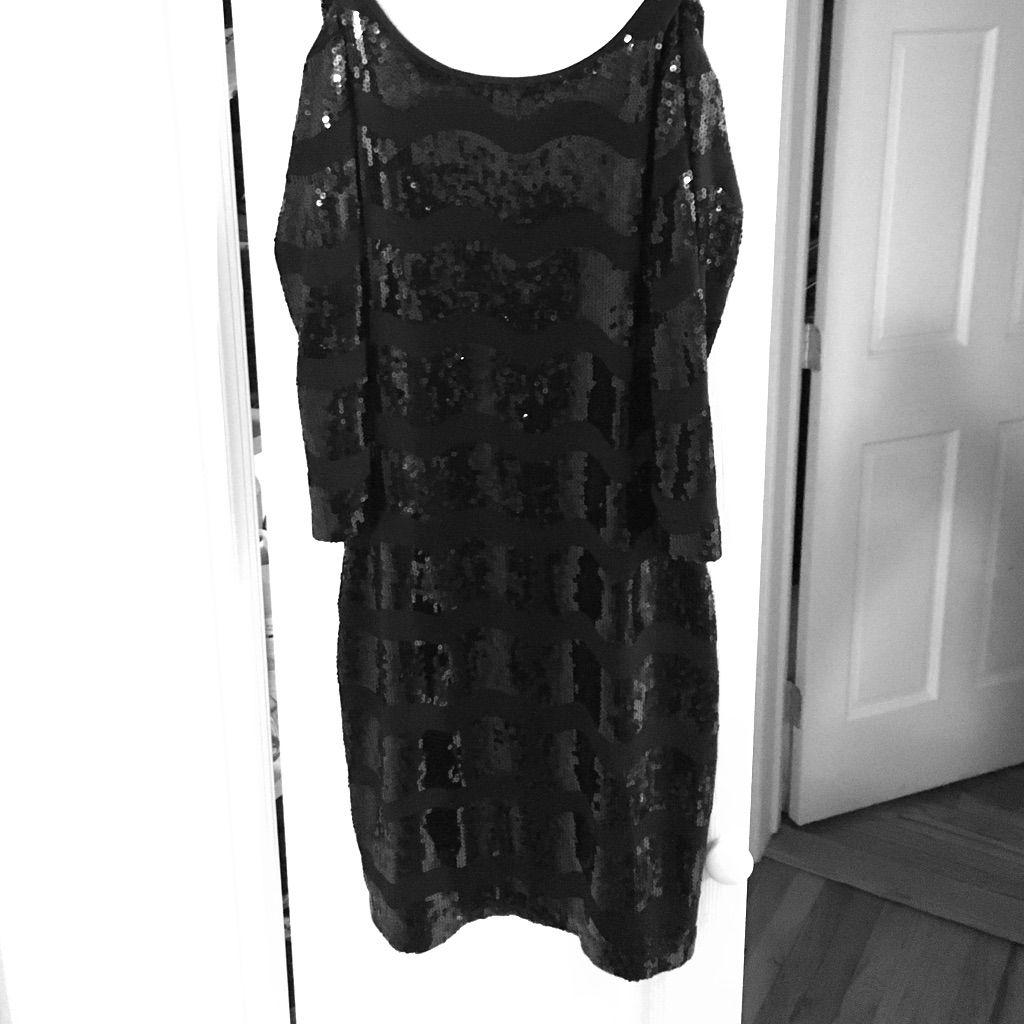 Rampage black sequin dress black sequin dress black sequins and