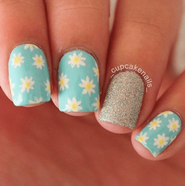 21 Spring Nail Looks #nails #nail art #nail #nail polish #nail ...