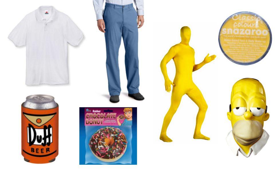 Homer Simpson Costume Simpsons costumes, Homer simpson