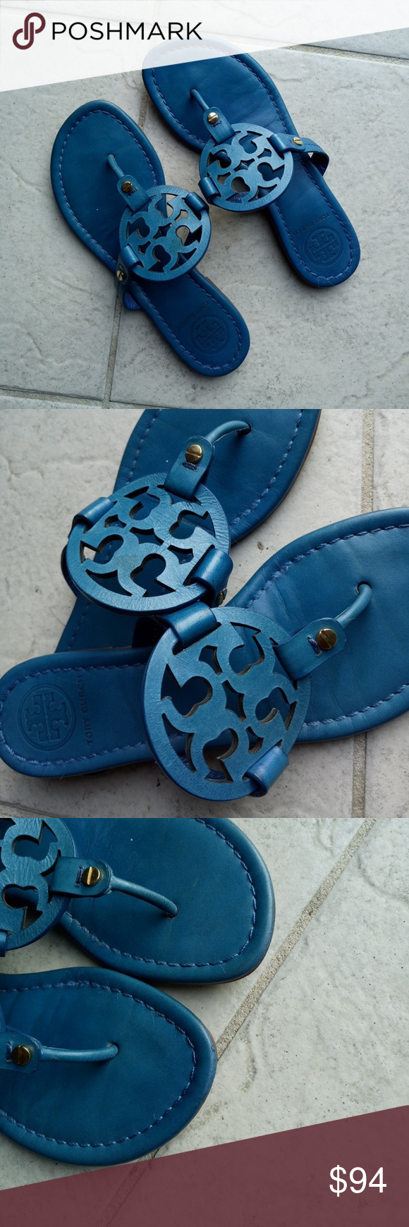 c422f0b5a7524d Tory Burch Miller sandals Great used condition Tory Burch Shoes