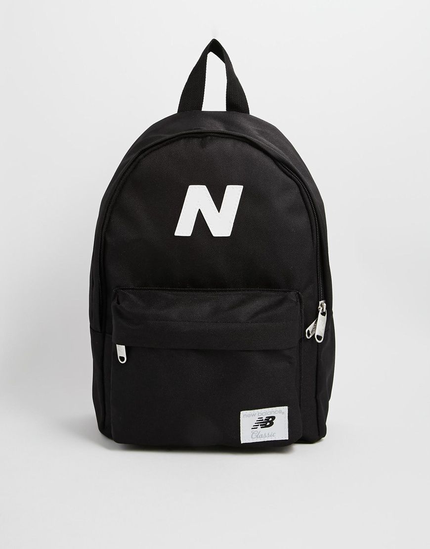8f20efc47b3c3 New Balance Mini Mellow Backpack - Black