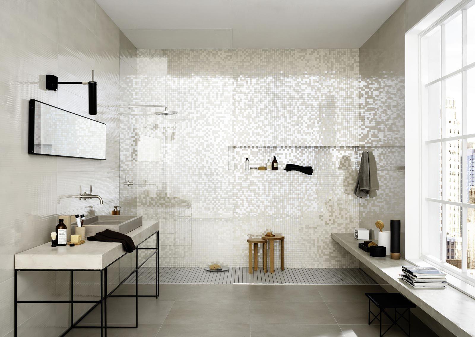 Mattonelle per bagno ceramica e gres porcellanato marazzi